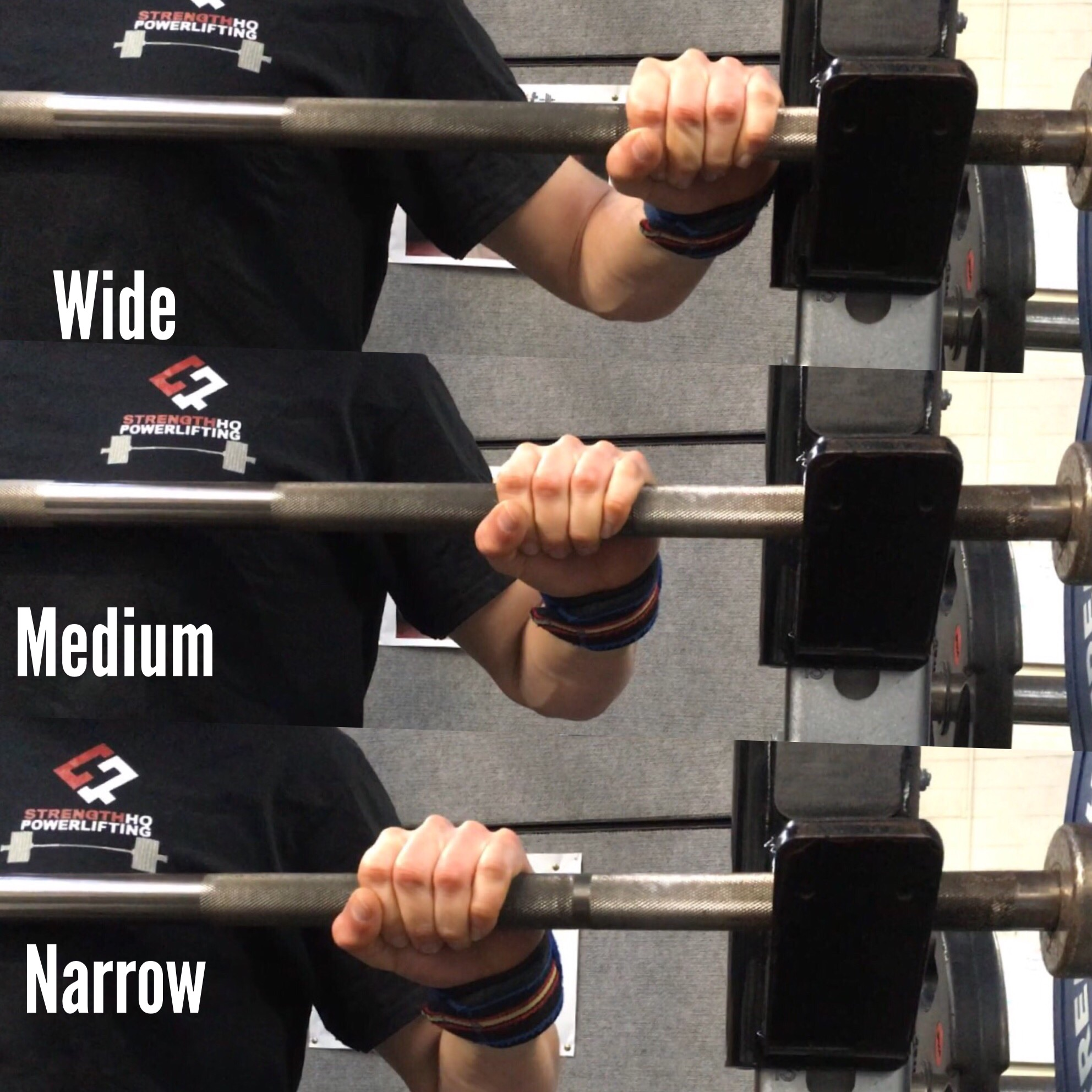 How Does Width Affect Muscle Activity Joint Angles